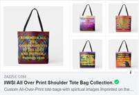 Custom All Over Print Shoulder Tote Bags!