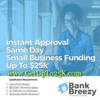 🔹GET UP TO $25k | Same Day Or Next Day Business Funding
