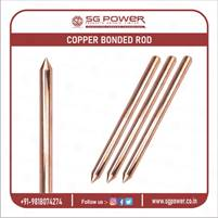 Supply Best Quality Copper Bonded Earth Rod: +91-9818074274
