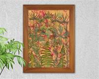 Picture of dried flowers, Leaves, Pressed flowers, Flower fantasy