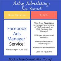 (Small Business) Facebook Advertisement Service!