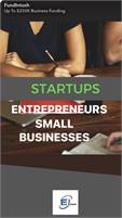 Up to $250k! Fast Approval. Business Funding at 0% Interest For 9-15 Months Startups OK!