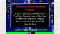 Advanced Affiliate Marketing Secrets Free Live Web Class