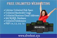 Free Webhosting For lifetime