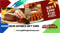 RZUSA   Outback Steakhouse   $100 Gift Card