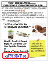 Love the Chocolate Hate the Craving