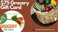 RZUSA   $75 Grocery Gift Cards