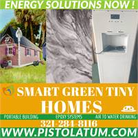 Green Tiny Homes AVAILABLE NOW!!! or Convert Your Backyard Shed to a Green Tiny Home!
