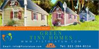 Green Tiny Homes AVAILABLE NOW!!! or Convert Your Backyard Shed into a Green Tiny Home!