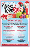 PROJECT LOVE HOLIDAY TOY DRIVE