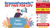 Limited Time Offer — Get GrooveFunnels™ for Free — No Credit Card Required!