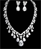 5pc Bridal Jewelry Set with Free Gift