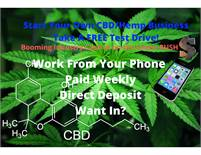 Booming CBD/Hemp Industry Business Opportunity-Take A Free Tour!