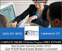 Real Estate Training Center of CO, Inc. Real Estate Training Center of CO, Inc.